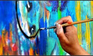 La main qui peint-eclore